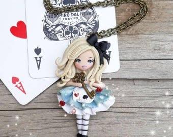 Ooak Doll Alice Necklace