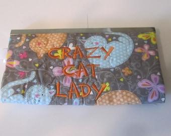 CRAZY CAT LADY Wallet