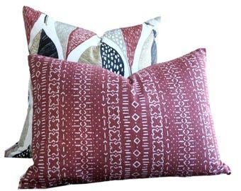 Robert Allen Pillow Cover Bakosi Henna