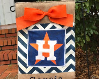 Houston Astros Garden Flag