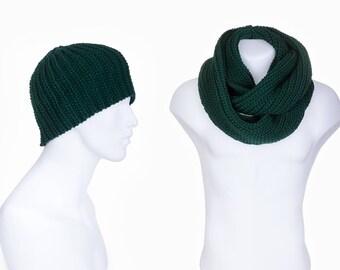 how to wear infinity scarf men