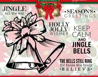 Jingle Bells Digital Stamp Set