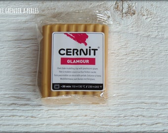 Glamorous gold CERNIT clay (050)