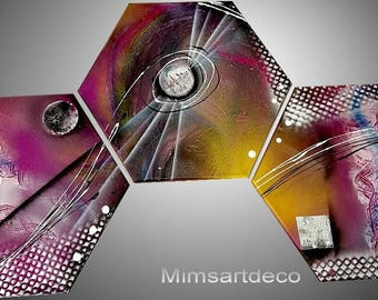 Abstract painting movement industrial design
