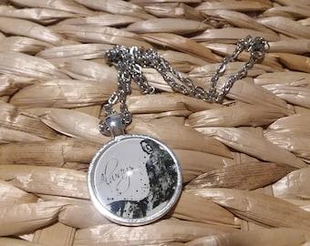 Severus Snape Cabochon Necklace - Harry Potter Jewelry - Snape Pendant - Severus Snape Jewelry