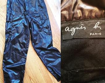 Agnes b. Paris Vintage parachute pants size EU 40 Rare!