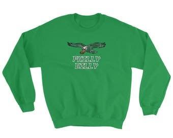 Philly Dilly Crew Neck Sweatshirt