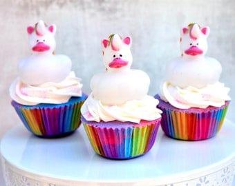Unicorn Cupcake - Unicorn Bath Bomb - Cupcake Bath Bomb - Bath Bomb Cupcake - Unicorn Birthday Favors - Unicorn Party Favors - Unicorn Lover