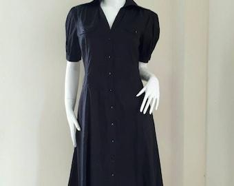 SALE Vintage Women's Black Dress Esprit  Size US 6 Medium
