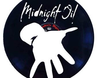 Midnight Oil - Vinyl Record Art