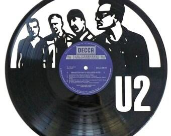 U2 - Vinyl Record Art