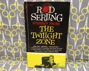 Stories from the Twilight Zone by Rod Serling Paperback Book Vintage TV Tie In