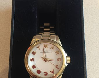 Authentic Marc Jacobs Gold Tone Automatic Watch