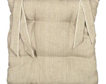 """Chair """"Naturally linen"""" 40x40cm cushion"""