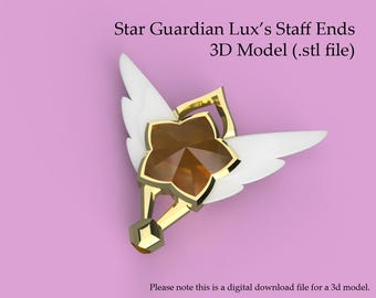 Star Guardian Lux - 3D STAFF MODEL