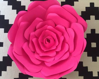 Custom Paper flower back drop