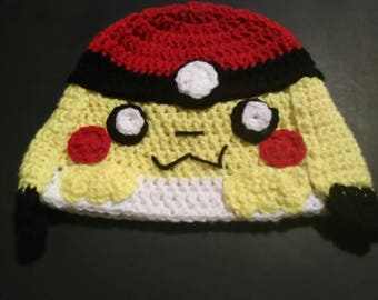 Pikachu Pokeball Hat