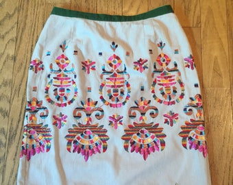 Embroider Skirt