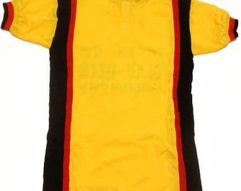 70's Deadstock vintage cycle jersey made in Belgium