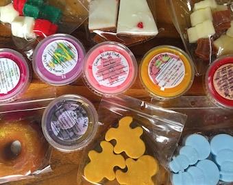 12 Days of Wax Melts - Advent Calendar Christmas Countdown Gift Set - wax Sampler Stocking Stuffer Christmas Gifts