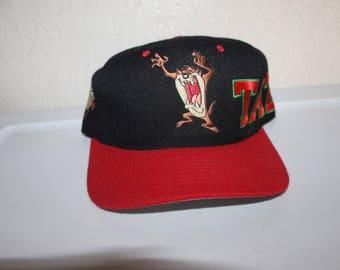 Vintage 1993 Taz Snapback by Looney Tunes