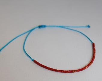 handmade colorful bracelet