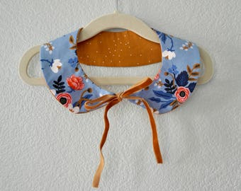 Birch Periwinkle Peter Pan Collar