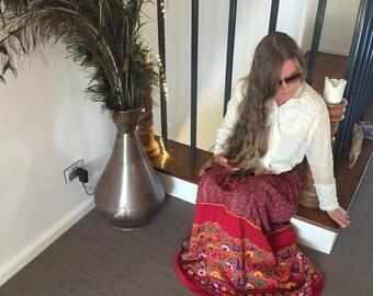 Gypsy, Hippie, Boho, Festival, Folk, India, Banjara, Cotton, Multi Colour, Size Small S