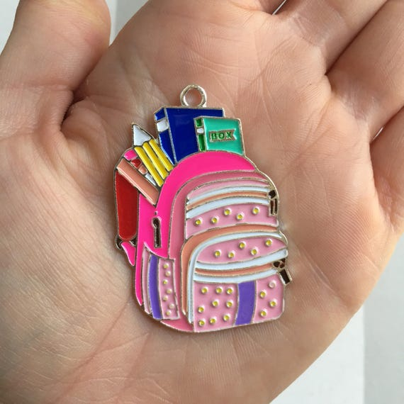 P83 Backpack Pendant for Chunky Necklaces