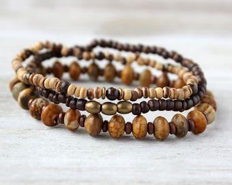 Boho Stack Bracelets