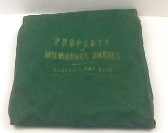 Vintage Milwaukee Braves Seat Cushion for Stadium