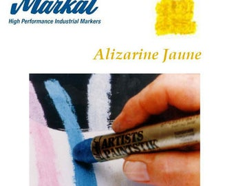 "MARKAL Paintstick - Stick ""Alizarin yellow"" oil painting"