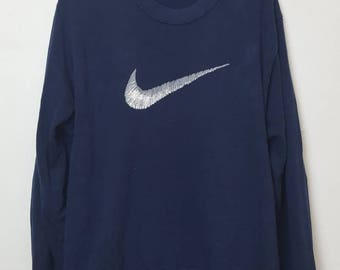 Vintage Nike Swoosh big logo sweatshirt