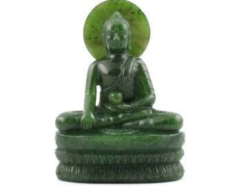 Canadian Nephrite Buddha*