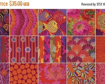 """AUG10 Kaffe Fassett Collective-Passion 2.5"""" Strips"""