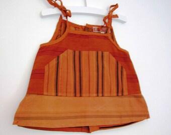 Bohemian tunic brick 4t