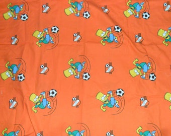 Original Bart Simpson Cotton Fabric