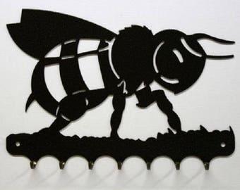 Hangs 26 cm pattern metal keys: Bee