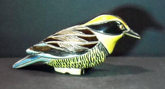 Very Rare Artesania Rinconada Pitta Bird Figurine  - Limited Prototype Not Marketed in US
