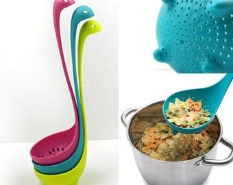 Soup Spoon Colander Nessie
