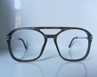 Vintage Playboy 4622 Man Aviator Eyeglass Frame Germany NOS