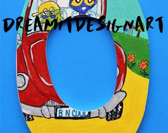 Pete the Cat Stay Groovy Alphabet Letter O