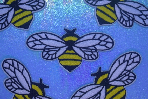 Bumble Bee Iron on Patch