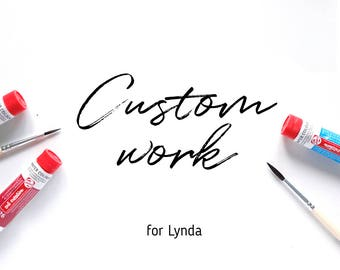 Custom dress drawing for Lynda