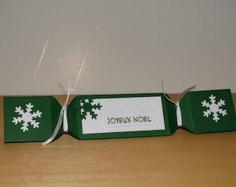 Box foil green triangle