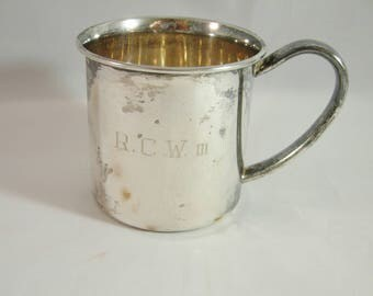 Vintage Sterling Silver Child's/ Baby Cup