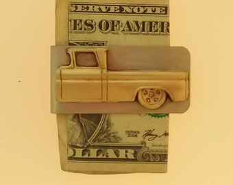 62 Chevy truck money clip