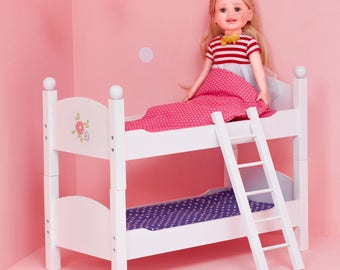 "18"" Doll Bunk Bed"