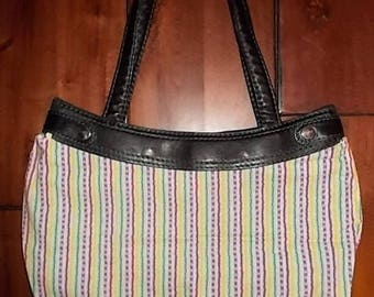 New Thirty-one Purse Skirt for Small Classic Purse Colorful Rainbow Stripe 31 Gifts BEAUTIFUL