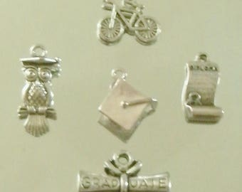 1# University / Graduation Mix Charms